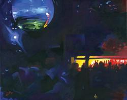 Blue Disco, Cielo, New York