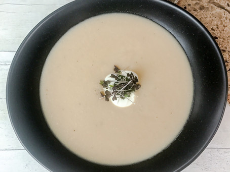 CANNELLINI AND BUTTER BEAN SOUP