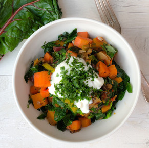 SPRING GREENS IN 20 MINUTES