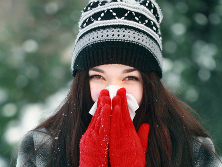 5 TOP TIPS FOR A HEALTHY WINTER