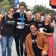 Volunteers at the Athens marathon