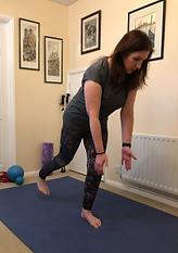 Single leg strength exercise/balance