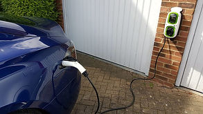 Home EV Car Charging Wall Mount
