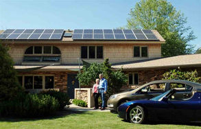Solar-home-In-Kingsport-Ev-Charging-Cars
