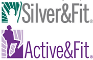 Silver & Fit and Active & Fit logos