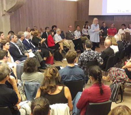 Debat obert a la ciutadania al recinte modernista del Hospital de San Pau