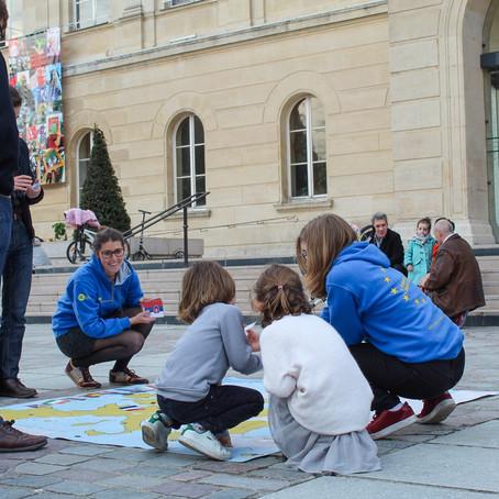 El Ayuntamiento de Perpiñán prohibe la intervención de los jóvenes europeos en su municipio