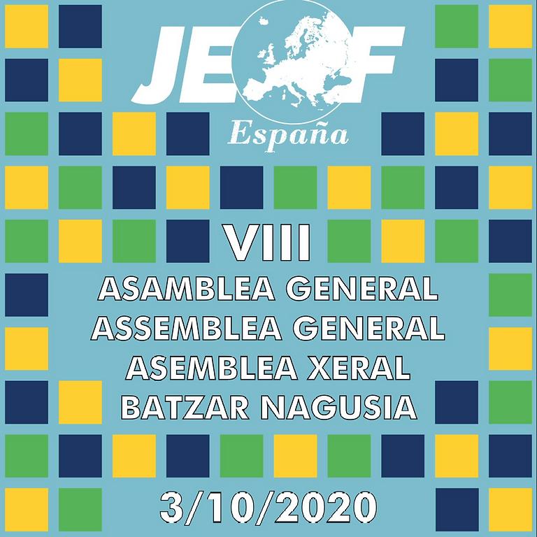 VIII Asamblea General JEF-España