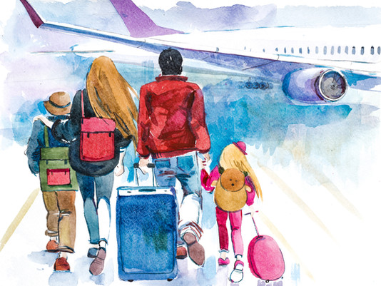 Traveling with Your Toddlers? Are You Ready?