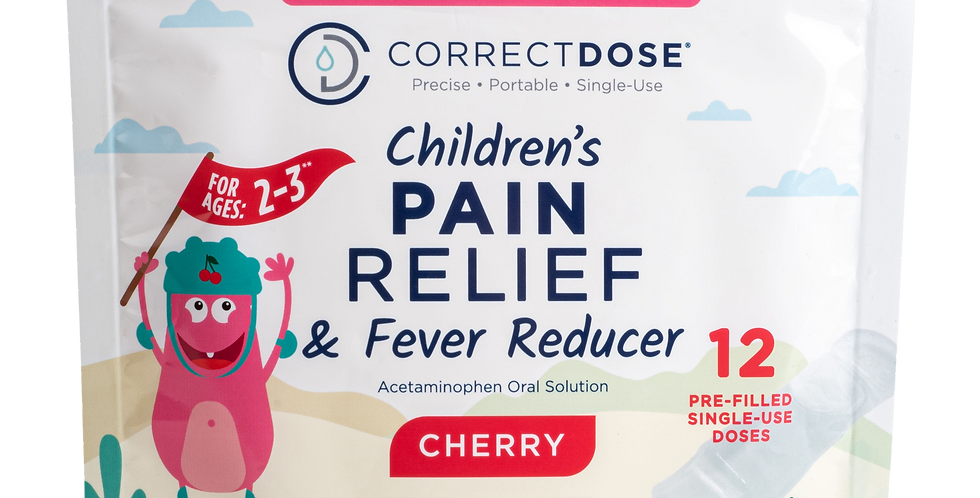 Children's Pain Relief & Fever Reducer
