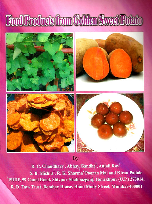 Food Products from Golden Sweet Potato