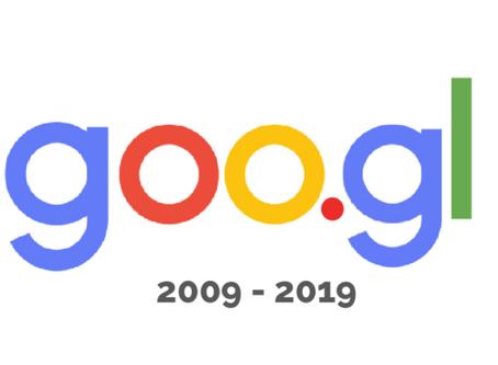 Google goo.gl URL shortener to be shut down.