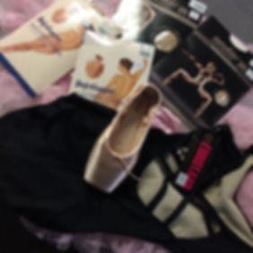 leotards, dance tights, pointe shoe, body liners