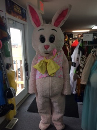 Pink Cottontail Easter Bunny