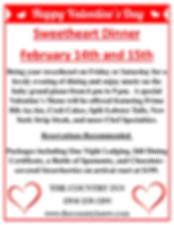 The Country Inn Valentine's Package
