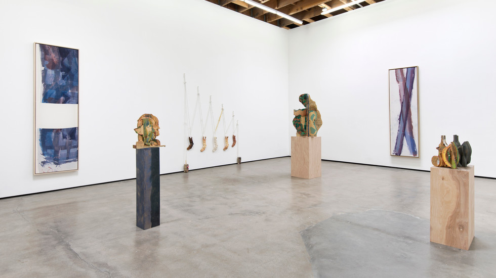 """Installation View from """"The Studio, The Sketch"""", 2015 Solo Exhibition at Cherry and Martin Los Angeles, CA"""