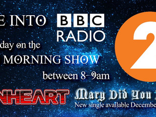 """""""Mary"""" on Radio 2 This Weekend."""