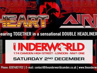 UK Tour. Day 3. The Underworld, Camden, London.