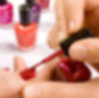 Manicures available at Zing Health and Beauty Salon in Duns Scottish Borders