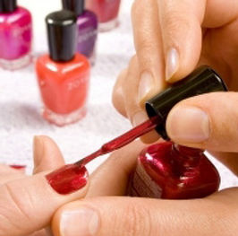 Manicures and Pedicures available at Zing Health and Beauty Salon in Duns Scottish Borders