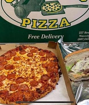 Coaches Pizza Waverly Tioga County NY pi