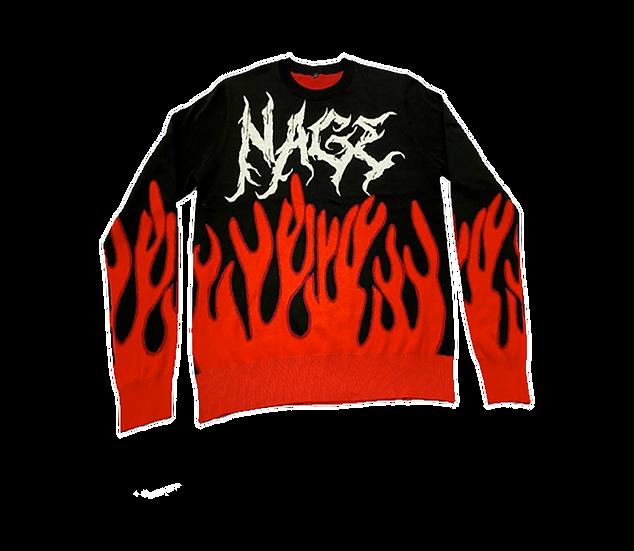 "Flame Sweater ""NAGE"""