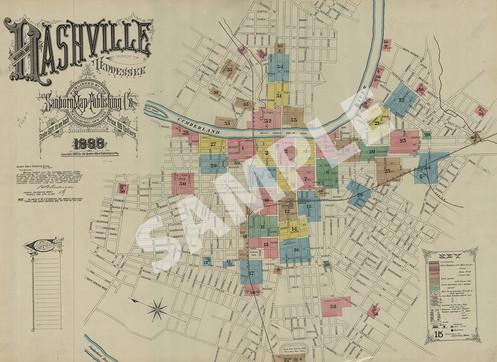 Nashville Maps on