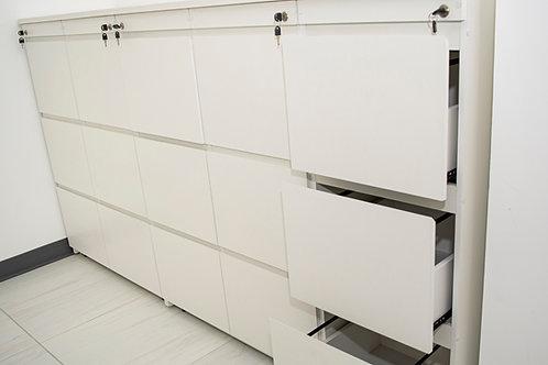 Archivo vertical de 3 gavetas