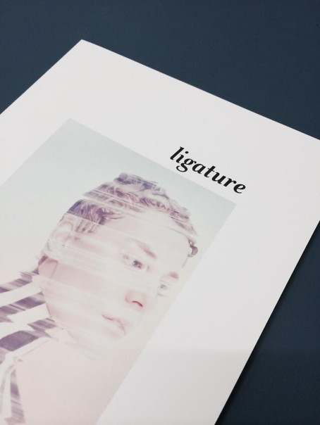Collages featured in Ligature Magazine now in shops