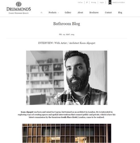 Interview on Drummonds website