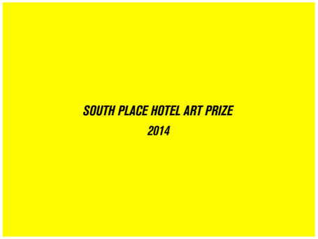 Winner of the South Place Hotel Art Commission 2014