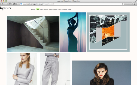 Kolaj1 featured on Ligature Magazine Online Edition