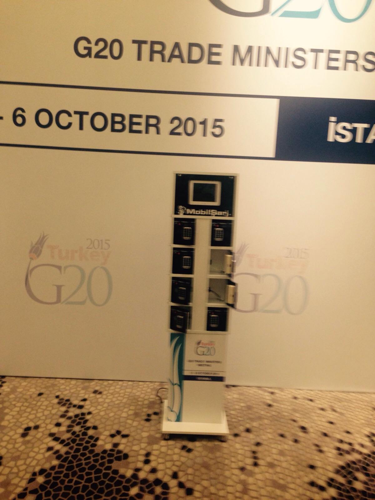 G20 Zirvesi Özel Tasarım