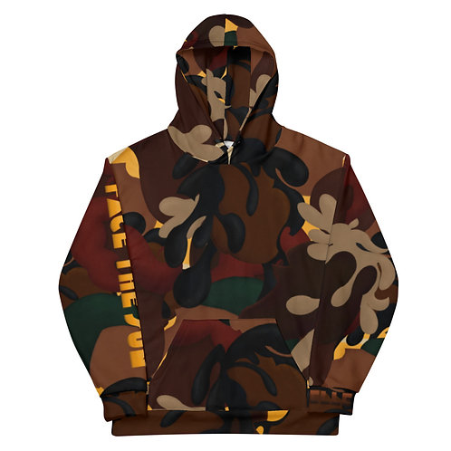Face the Sun All-Over Print Hoodie