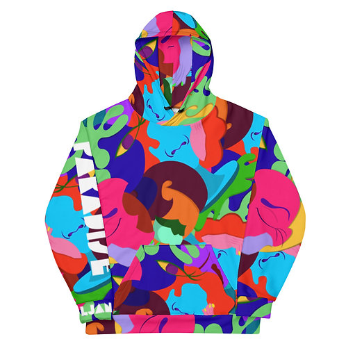 Paradise All-Over Print Hoodie