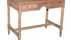 **SOLD** Vintage 1950s Indian Post Office Writing Table in Teak Wood