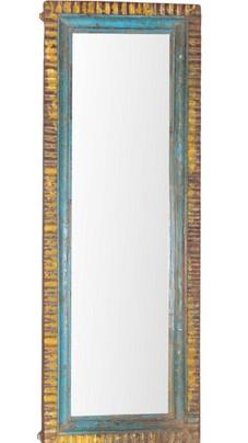Reclaimed Teak Wood Mirror Frame
