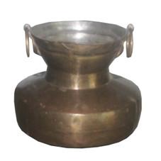 Antique Brass Pot