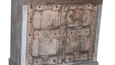 Repurposed Antique Window Shutters Sideboard in Teak Wood
