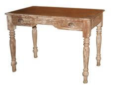 Vintage 1950s Teak Wood Writing Table