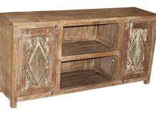 Plasma TV Cabinet in Reclaimed Teak Wood