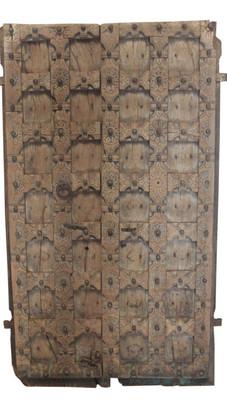 **SOLD** Antique Teak Wood Door Panels
