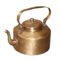 Antique Brass Tea Pot