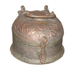 Antique Brass Betel Nut Box