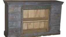 Reclaimed Teak Wood 8 Drawer Sideboard