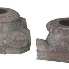 Antique Pillar Base Candle Holder
