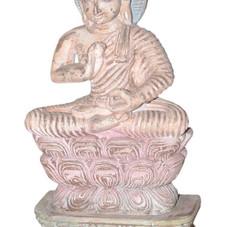 Vintage Wooden Buddha