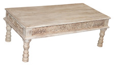 Recycled Hand Crafted Teak Wood Coffee Table