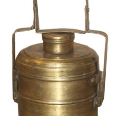 Vintage Brass Food Tiffin