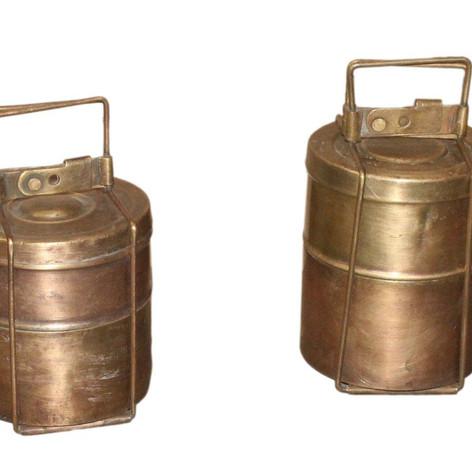 Antique Brass Tiffin Box